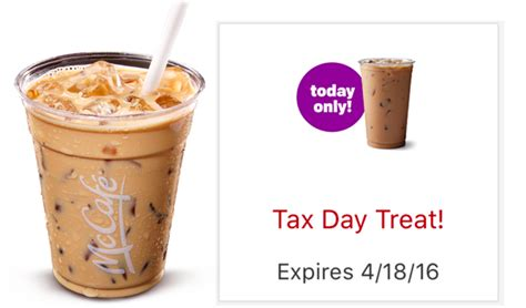 Mcdonald's mccafe iced coffee uploaded by elizabeth s. McDonald's App: Possible FREE McCafe Iced Coffee (Today Only) - Hip2Save