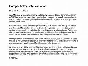 12+ Sample Introduction Letters - Sample Letters Word