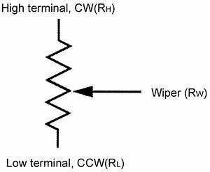 digitally programmable potentiometer dpp basics nuts With variable resistor electronic symbol
