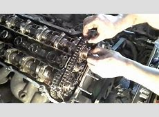 Double vanos disassembly bmw 525i 2003 complete 13 YouTube