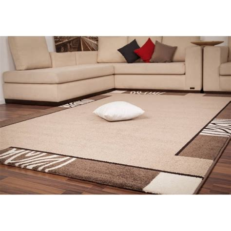 tapis design d entr 233 e beige mondo pas cher tapis deco fr