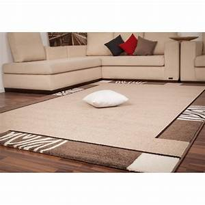 Emejing tapis marron beige pictures awesome interior for Tapis marron beige
