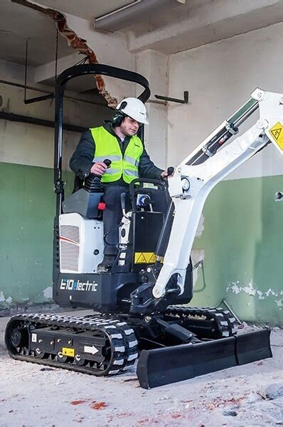 bobcat rolls   ee   electric mini excavator