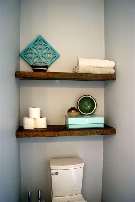 Bathroom Shelves by More Shelves In The Bathroom House Projects Wall