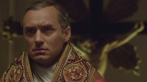 young pope  jude laws sexy pontiff