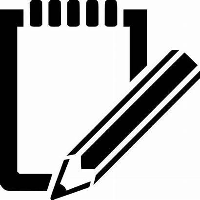 Notes Take Icon Essay Write Notepad Icons
