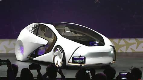Toyota Ces 2017 by Concept I Toyota представила свой автомобиль будущего на