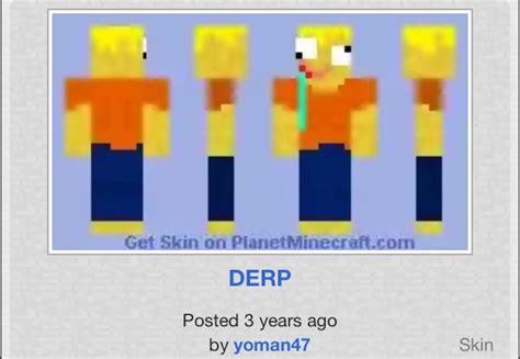 Minecraft Derp Duck Skin