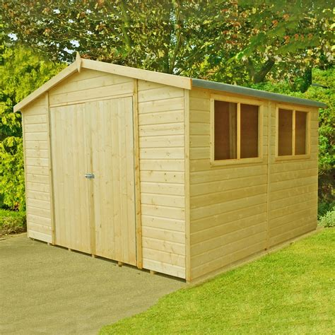 Workshops Sheds by 10 X 10 2 99m X 2 99m Tongue And Groove Wooden