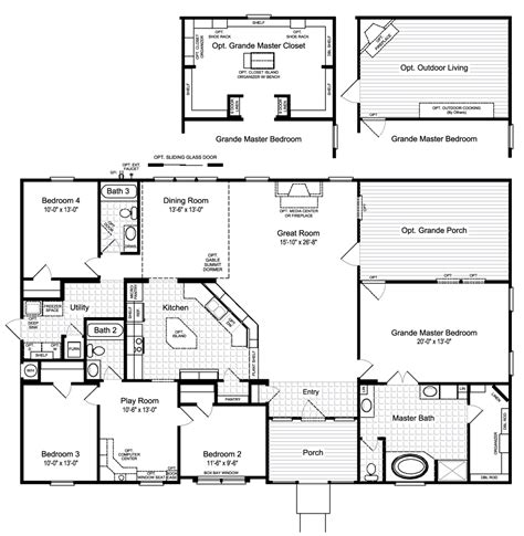 how to floor plans view the hacienda ii floor plan for a 2580 sq ft palm