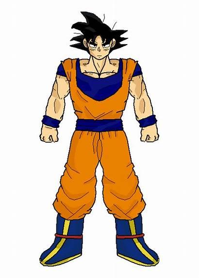 Goku Saiyan Joy Son Transformation Sparking Power