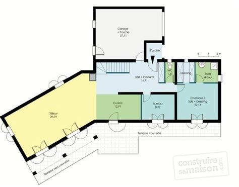 plan de chambre avec dressing et salle de bain bastide traditionnelle dé du plan de bastide