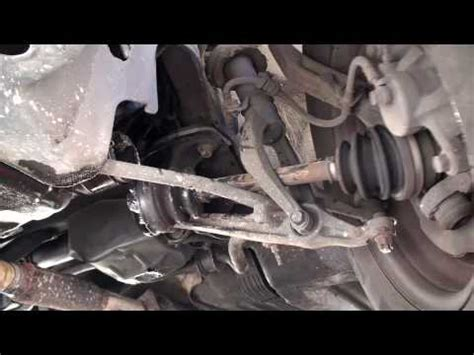 oops axle  ball joint replacement ericthecarguy