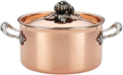 ruffoni   qt covered soup pot copper stockpot quart buy   united arab