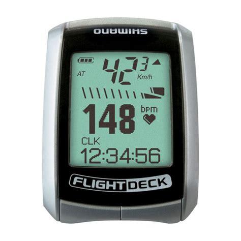 Flight Deck Sc Menu by Shimano Flightdeck Sc 7900 Display Unit With Rate