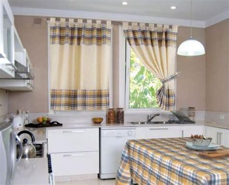 modelos de cortinas de tela  cocina