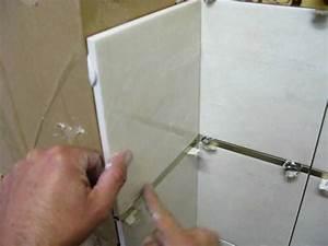 pose carrelage mural carrelage salle de bains youtube With nettoyer joint de carrelage salle de bain