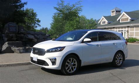 Kia Sorento 2019 White by Drive 2019 Kia Sorento Review 7 Seater Suv Gets