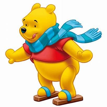 Pooh Winnie Clipart Disney Transparent Bear Ourson
