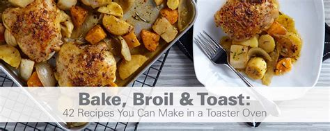 Can I Cook Chicken In A Toaster Oven - bake broil toast 42 recipes you can make in a toaster
