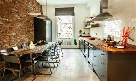Narrow Kitchen Table Ideas Long With Dining And Sitting