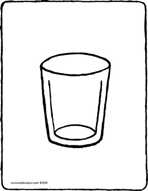Drink Beker Kleurplaat by Kleurplaten Die Er Echt Toe Doen Kiddikleurprenten