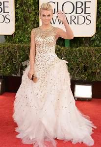 show up golden 2013 golden globe wedding dress With julianne hough wedding dress