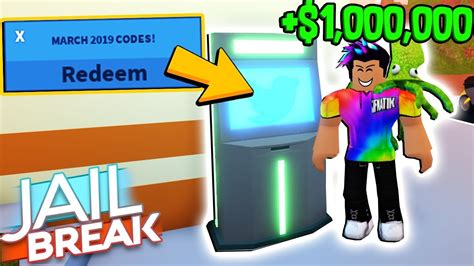 How to redeem atm codes. working-atm-codes-for-roblox-jailbreak-march-2019 - Sybemo