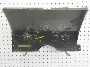 Instrument Cluster Repair 1994 Gmc 1500