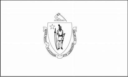 Massachusetts Flag Printable State Pages Flags Colorbook