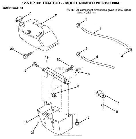 Ayp Electrolux Wegra Parts Diagram For Dashboard