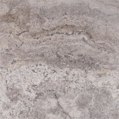 Msi Silver 18 In X 18 In Honed Travertine Floor And Wall