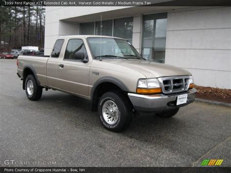 ford ranger 4x4 extended cab 1999 ford ranger xlt extended cab 4x4 in harvest gold metallic photo no 7044781 gtcarlot