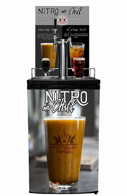 Cold Brew Convenience Stores Nitrogen Infused Coffee