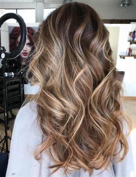 balayage hair color ideas  brunettes