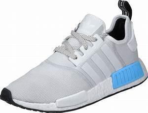 Adidas NMD R1 Shoes Grey Blue