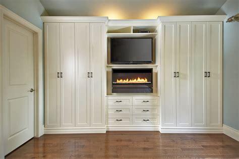 antique white wall unit contemporary bedroom toronto