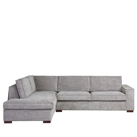 canapé d angle gauche canapé d 39 angle à gauche tissu côtelé by drawer