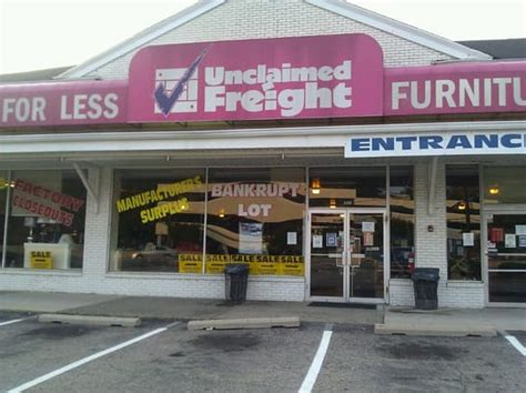 unclaimed freight furniture stores clifton nj
