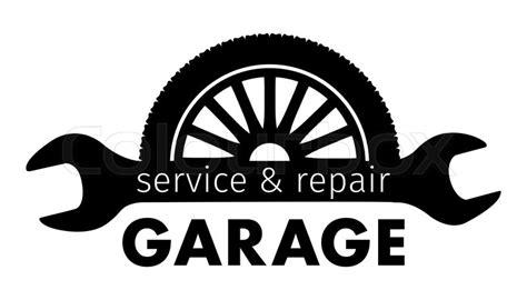 Auto Center, Garage Service And Repair Logo,vector