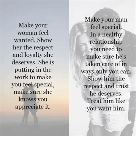 Make Your Woman Feel Wanted Show Her The Respect And