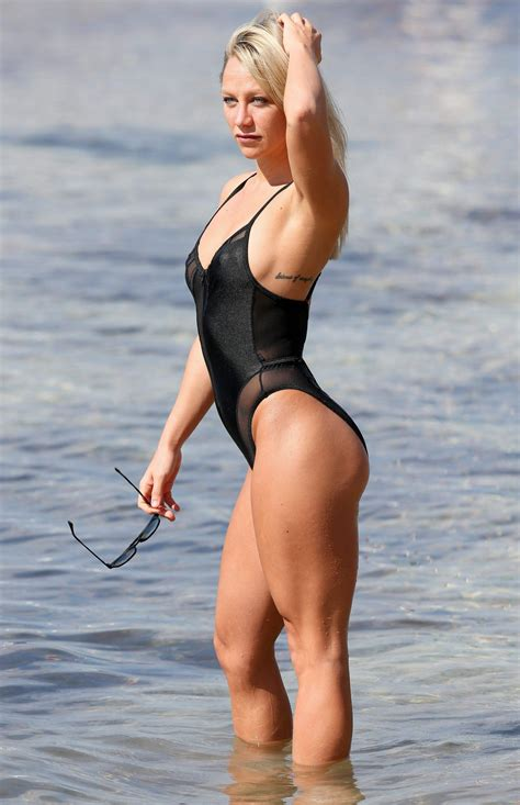 laura prepon swimsuit chloe madeley in swimsuit at a beach in ibiza 10 10 2016