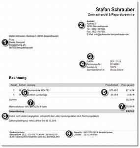 Ordentliche Rechnung : kleingewerbe musterrechnung f r kleingewerbetreibende ~ Themetempest.com Abrechnung