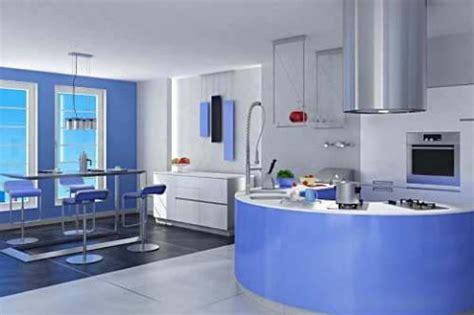 preciosas cocinas modernas en color azul