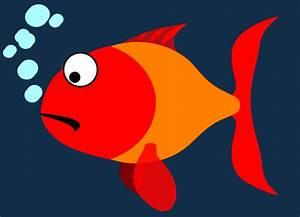 Red And Orange Fish Clip Art at Clker.com - vector clip ...