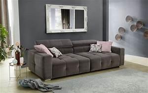 Big Sofa L Form : big sofa trento in grau online bei hardeck kaufen ~ Eleganceandgraceweddings.com Haus und Dekorationen