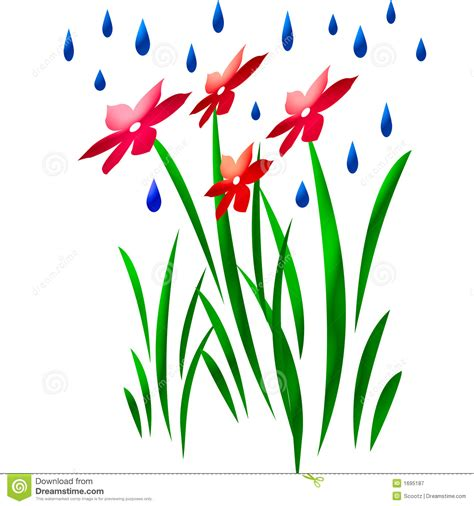 shower  flower art royalty  stock photography