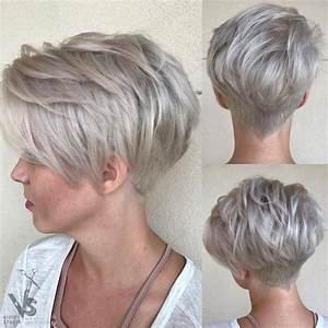 10 Trendy Pixie Hair Cut for Blondes & Brunettes, 2018 Women Hairstyles