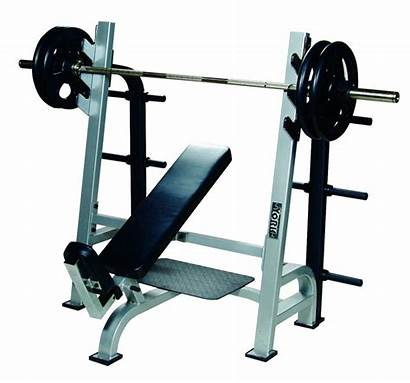 Bench Press Incline Barbell Olympic York Racks