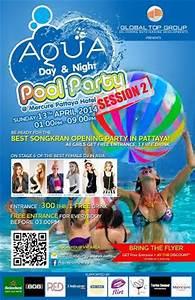 Dj Pool Charts Aqua Day Night Pool Party Mercure Hotel Pattaya
